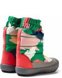 Stella McCartney Kids Multi Colour Camouflage Ski Boots