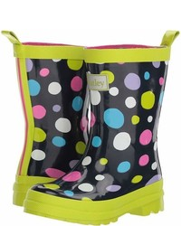 Hatley Kids Sunny Dots Rain Boots Girls Shoes