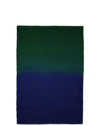 Sies Marjan Blue And Green Amo Edition Pastoral Scarf