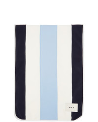 Daniel W. Fletcher Blue And White College Rowing Scarf