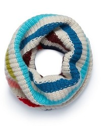 Tory Burch Cashmere Multi Color Infinity Scarf