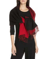 Eileen Fisher Colorblock Wool Blend Scarf