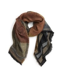 BP. Geo Colorblock Scarf