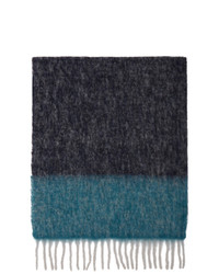 Paul Smith Multicolor Baby Alpaca Libsco Scarf