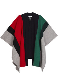 Sandro Oversized Multi Coloured Wool Scarf