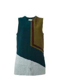 Tory Burch Colour Block Vest