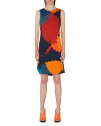 Akris Punto Nuvola Print Shift Dress