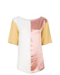 Multi colored short sleeve blouse original 1292577