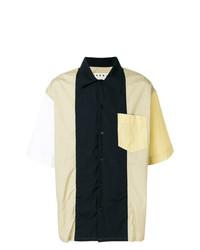 Casual colour block shirt medium 7513775