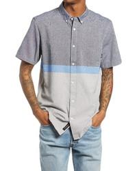 Vans Houser Classic Fit Colorblock Short Sleeve Shirt
