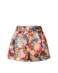 Saint Laurent Jacquard Shorts