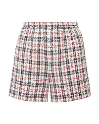 Gucci Metallic Tweed Shorts