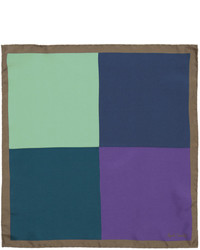 Paul Smith Multicolor Four Corner Pocket Square