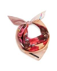 Stella McCartney Bouquet Silk Scarf