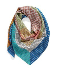 Echo Harbour Foulard Square Silk Scarf
