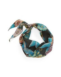 Echo Taking Flight Diamond Cut Silk Scarf