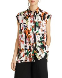 Burberry Hen Silk Blouse