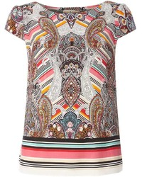 Billie Blossom Paisley Print Shell Top