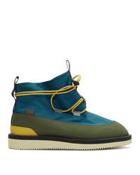 Aimé Leon Dore Blue Suicoke Edition Hobbs Boots