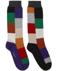 Marni Patchwork Socks