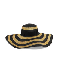 Etro Med Striped Paper Blend Sunhat