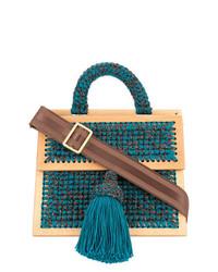 711 0copa Large Woven Handbag