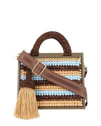 711 0st Barts Large Woven Handbag