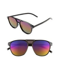 DIOR Blacktie 56mm Aviator Sunglasses