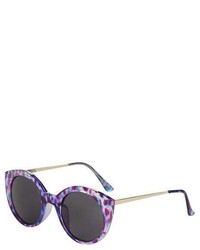 Topshop Cactus Preppy Cateye Sunglasses