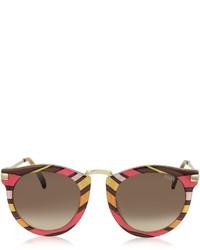 Emilio Pucci Ep25 Fantasy Acetate Frame Sunglasses