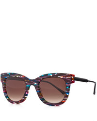 Thierry Lasry Limited Edition Rounded Square Sunglasses Multi