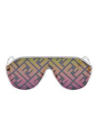Fendi Multicolor Forever Shield Sunglasses