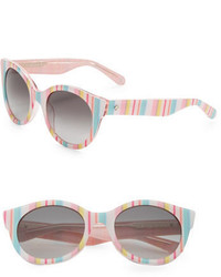 Kate Spade New York Melly 53mm Round Sunglasses