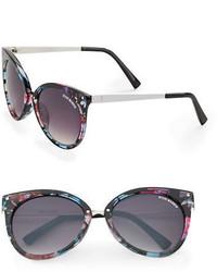Steve Madden Square 64mm Cats Eye Sunglasses