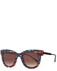 Thierry Lasry Eyewear Thierry Lasry Limited Edition Rounded Square Sunglasses Multi