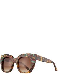Thierry Lasry Intimacy Cat Eye Sunglasses Tortoise