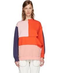 Perks And Mini Multicolor Complex Split Sweatshirt
