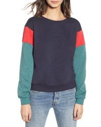 Noisy May Jonas Colorblock Sweatshirt