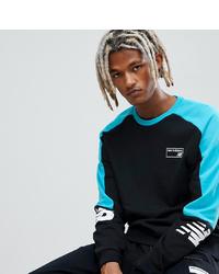 New Balance Miami Brights 90s Sweatshirt In Black
