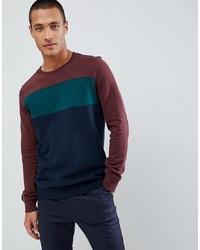 Tom Tailor Sweatshirt In Cut Sew Colour Block