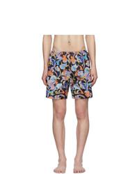 Prada Multicolor Abstract Swim Shorts