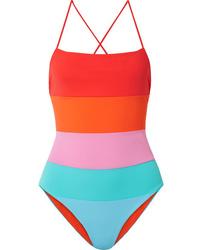 Mara Hoffman Olympia Color Block Swimsuit