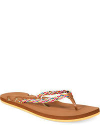 Roxy Montego Flat Thong Sandals