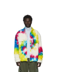 The Elder Statesman Multicolor Sherpa Rings Jacket