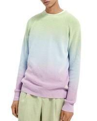 Scotch & Soda Dip Dye Crewneck Sweater