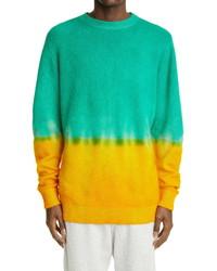 The Elder Statesman Dip Tie Dye Cashmere Sweater