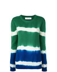 Prabal Gurung Tie Dye Cashmere Jumper