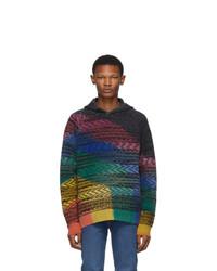 Missoni Multicolor Knit Tie Dye Hoodie