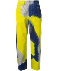 Marcelo Burlon County of Milan Tie Dye Jeans