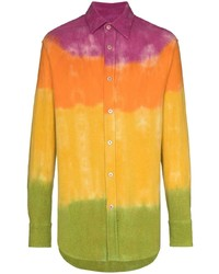 The Elder Statesman Gradient Bloomsland Shirt